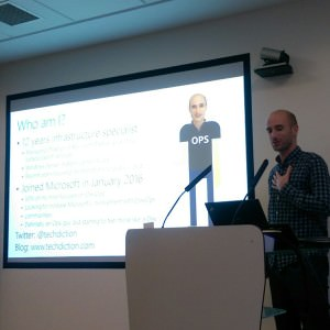 Marcus Robinson at DevOps Sheffield