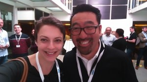 ITSM Zone's Claire Agutter meets Phoenix Project author Gene Kim