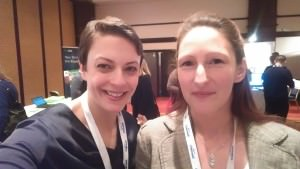 Claire and Kirsty at the SDI Conference