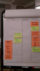Using kanban to manage your agenda