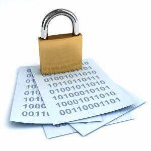 Security gdpr padlock