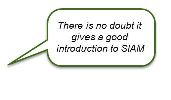 SIAM Foundation Course Review