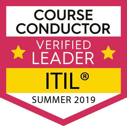 ITIL Verified Leader Badge